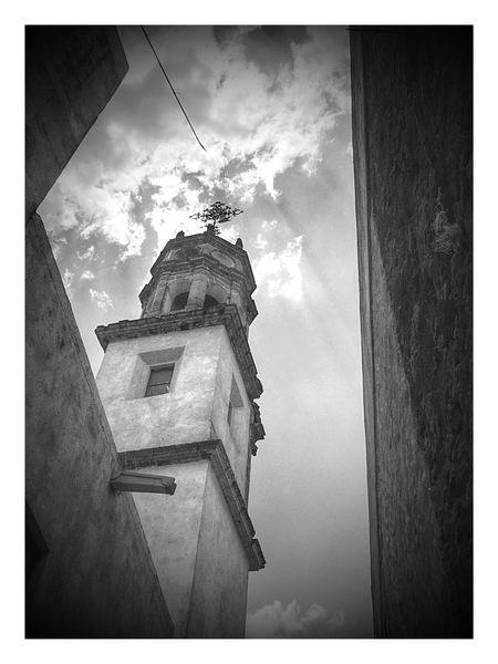 Parroquia de Cañada de negros Sky Photography Photographer Iphone6 Taking Photos Blackandwhite
