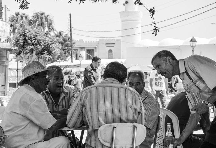 Capture The Moment Street Photography Blackandwhite Photography Tunisia Tunisian Games Mans Streetphotography Black And White