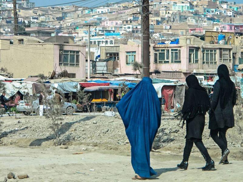 The Photojournalist - 2016 EyeEm Awards Afghanistan Kabul Burkah Women