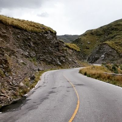 Asphalt Day Landscape Mountain No People Remote Road Rock Formation The Way Forward Tranquility