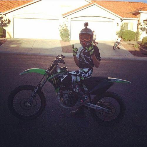 Repost from a few weeks ago.. Kx250f Ride Moster Fmf gopro hero3 nastysquad like follow moto dirtbike f4f igers