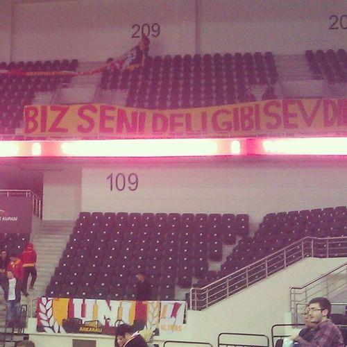 BizSeniDelGibiSevdik Ankara UltrAslan Besiktas Galatasaray
