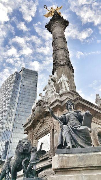 Columna de la Independencia. Paseo De La Reforma Angel De La Independencia