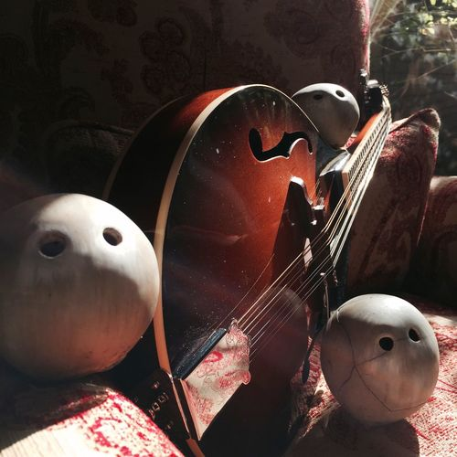 Mand-owl-in Music Musical Instruments Mandolin Light And Shadow Colors IPhoneography IPhone