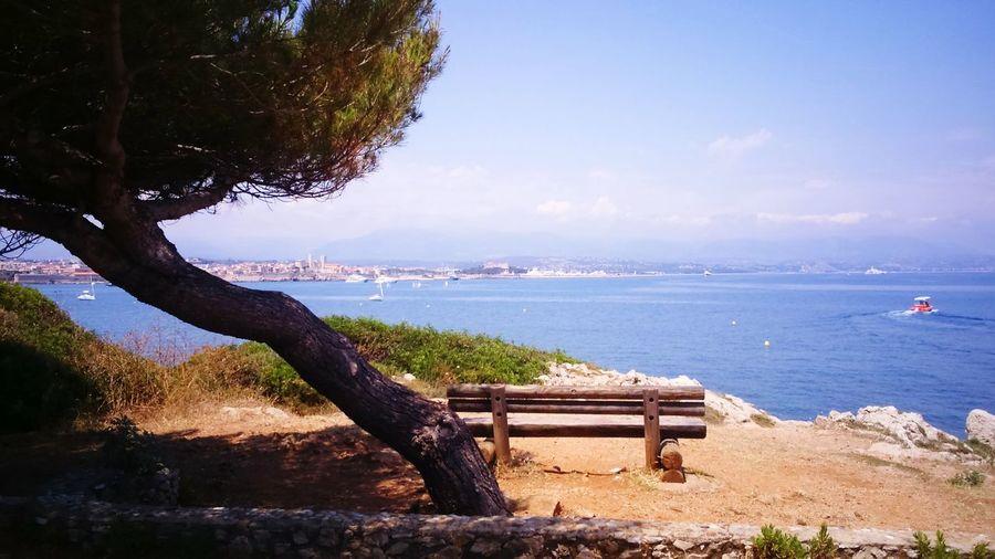 Beautiful View ❤ Capd'antibes😘 Beautiful Day Ocean View Enjoying Life Love My Life  I Love Antibes