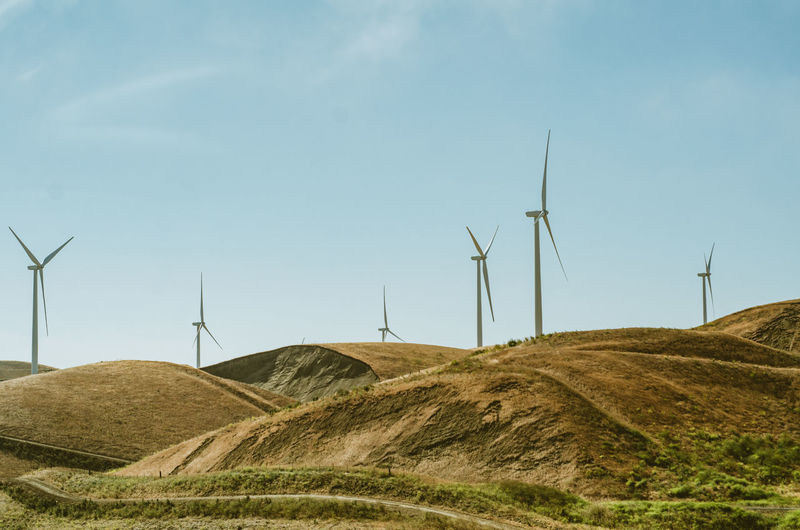 Windmills Day Hills Nature No People Outdoors Sky Summer Windmill