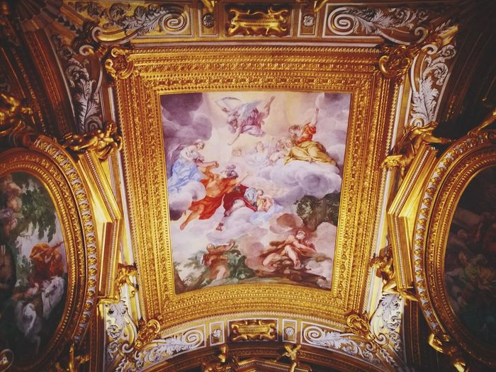 Florence Palazzo Pitti Religion No People Pattern Indoors  Low Angle View Close-up Built Structure Architecture
