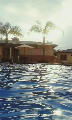 Miss my job Relaxing Pool Free Time Sunset