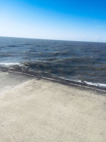 Beach Sea Water Land Sky Scenics - Nature Horizon Over Water