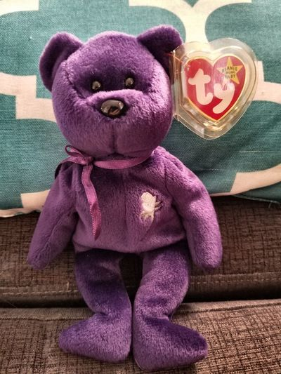 Memories Gift Princess Diana Beanie Baby Beanie Babys Stuffed Animals Toy Stuffed Toy Animal Representation Teddy Bear Indoors  No People Childhood Day Close-up