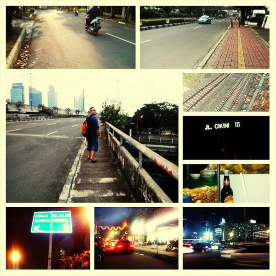 Walking Around The City  Jakarta With My Bestfriend