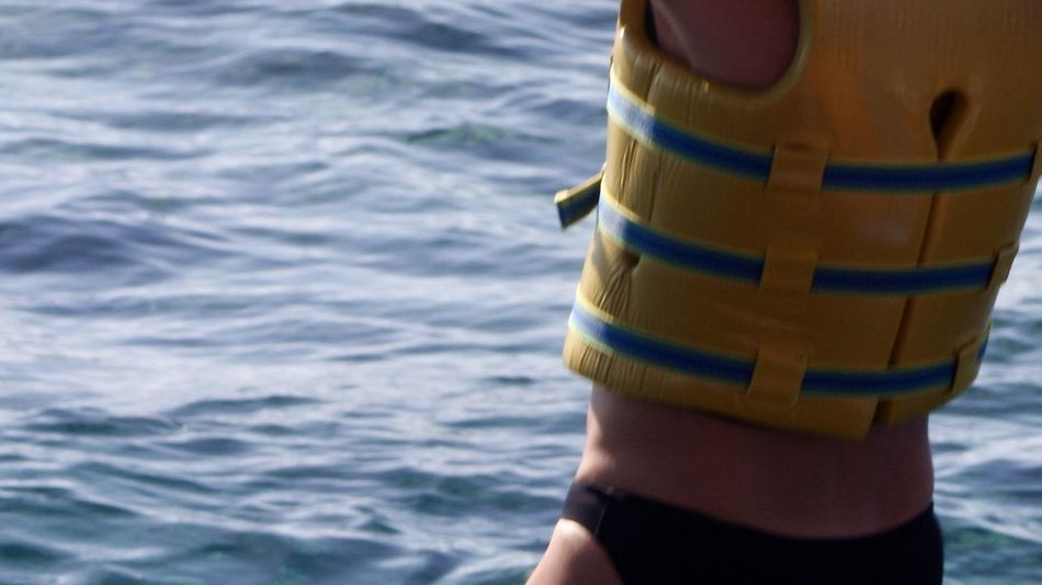 woman ready for snorkeling Back View Colors Holiday Indian Ocean Snorkeling Woman Bikini Blue Close-up Colorful Enjoying Life Female Leisure Activity Life Vest Nature Ocean Outdoors People Sea Seascape Surface Tan Water Yellow Paint The Town Yellow