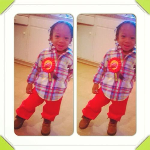 My Jr On His 2nd Bday