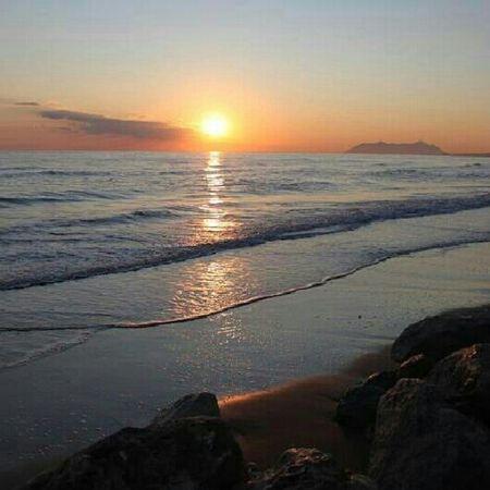 Relaxing Sea Sun Sunset Nature Sky Italy Enjoying The Sun Taking Photos Enjoying The View Colors Enjoying Life Italia Skyporn
