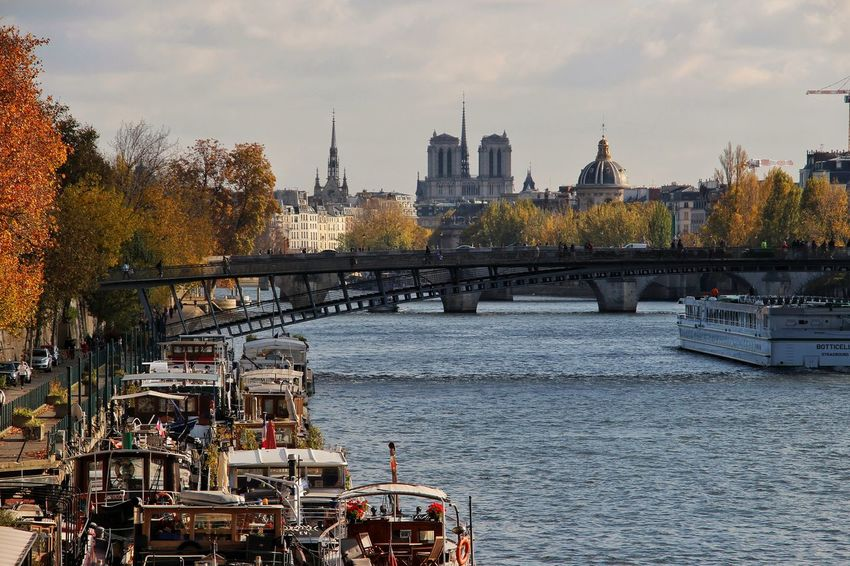 Cityscape Paris City Travel Destinations Urban Skyline Streetphotography Travel Photography EyeEm Best Shots Bestoftheday Eyeemoninstagram La Seine Notre-Dame Architecture Outdoors