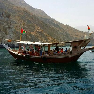 Dhow Dhowcruise Khasab Oman Mussandam