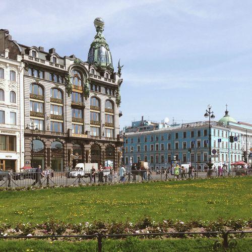 Zinger House. The hurt of Saint-Petersburg Vscocam Spb Summer невский