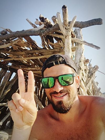 Self Portrait Around The World thats how we do it...off the radar🌾🌅🛄 Selfie ✌ That's Me Rural Outdoors Summer Beach Traveling Sunglasses Sunshades INEEDNATURE Feel The Journey