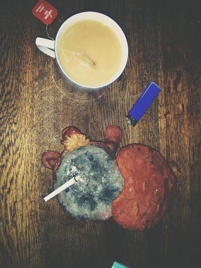 Tea Earl Grey Cigarette  Ashtray