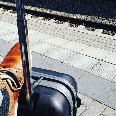 Bei schönstem Wetter auf dem Weg zur RpTEN . Berlin , nimm dich in Acht, der M_ok kommt.