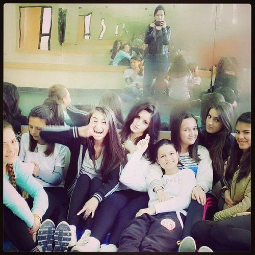 Me and my chikas..♡ Friends Freshman Samifrasheri Love