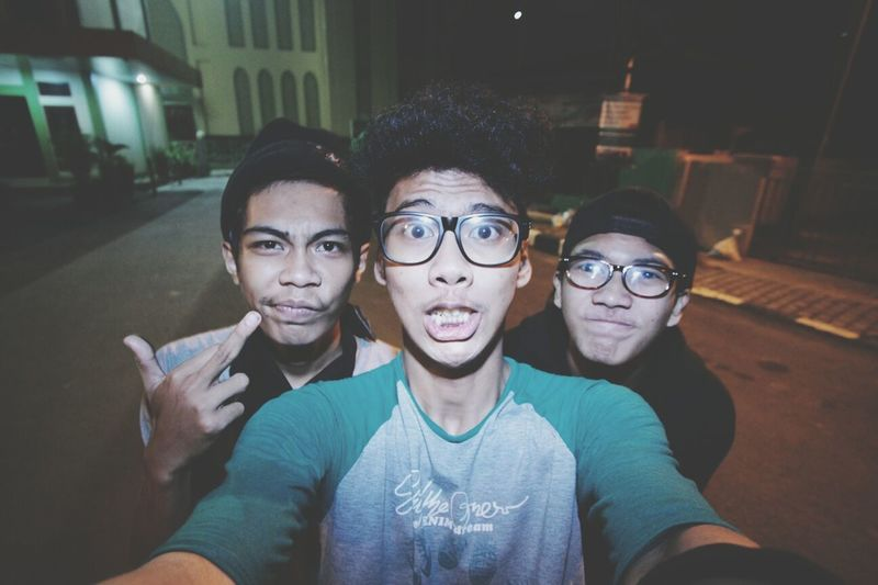 with fahrel and ali INDONESIA Hi! My Friend Freakday
