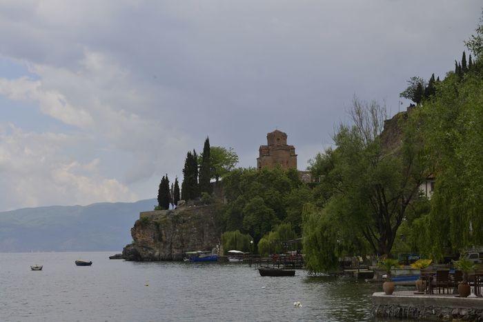 Architecture Built Structure Nature No People Ohrid Ohrid Lake Ohrid Macedonia Ohridlake Outdoors Sky Tree Water