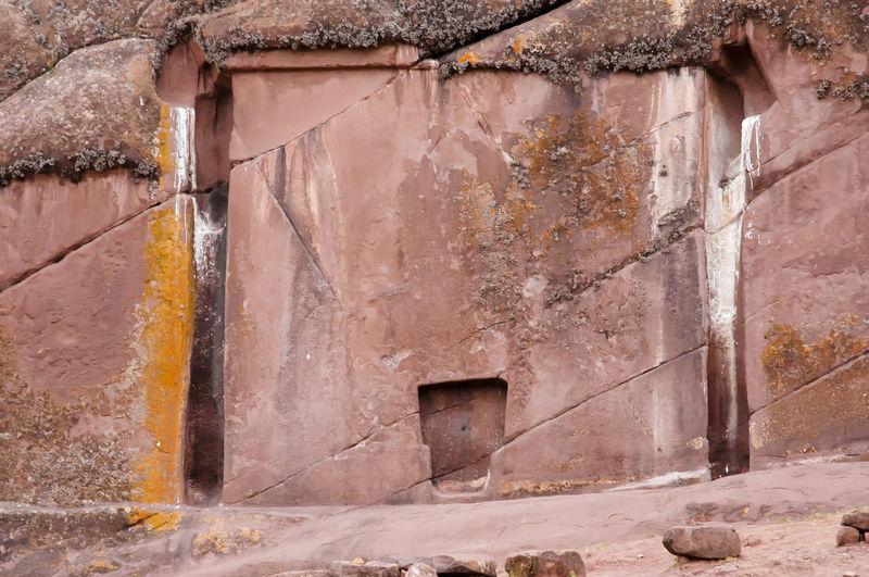 Gate Of The Gods - Peru Hayu Marca Peru Aramu Muru Built Structure Cliff Devil Door Gate Of The Gods