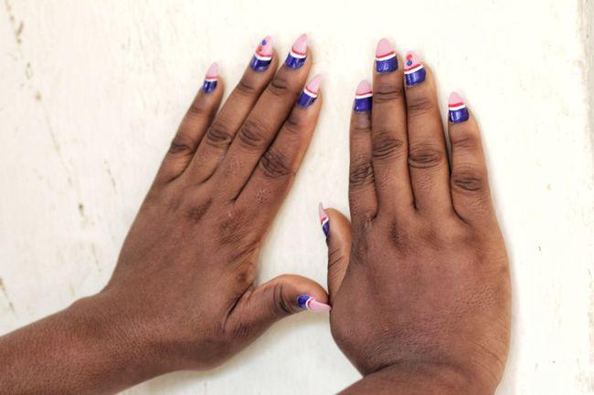 beautiful fingernails for Easter Hands Fingernails Polish Womanity  Feminine Style Fashion Photography EyeEm Selects