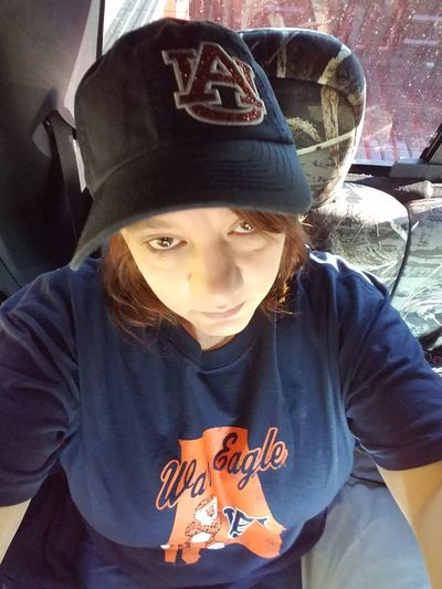 Looking At Camera One Person Real People Adult Headwear Portrait People No Filter, No Edit, Just Photography No Edit/no Filter Just Me Myself And I  Gameday Auburn, Alabama Auburn Tigers