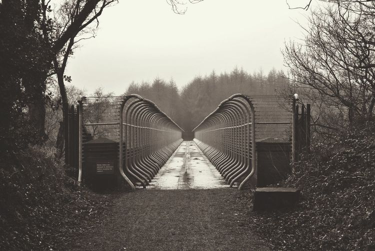 Gill bridge Metal Outdoors Bridge Consett Architecture Blackandwhite EyeEmNewHere EyeEm Diversity