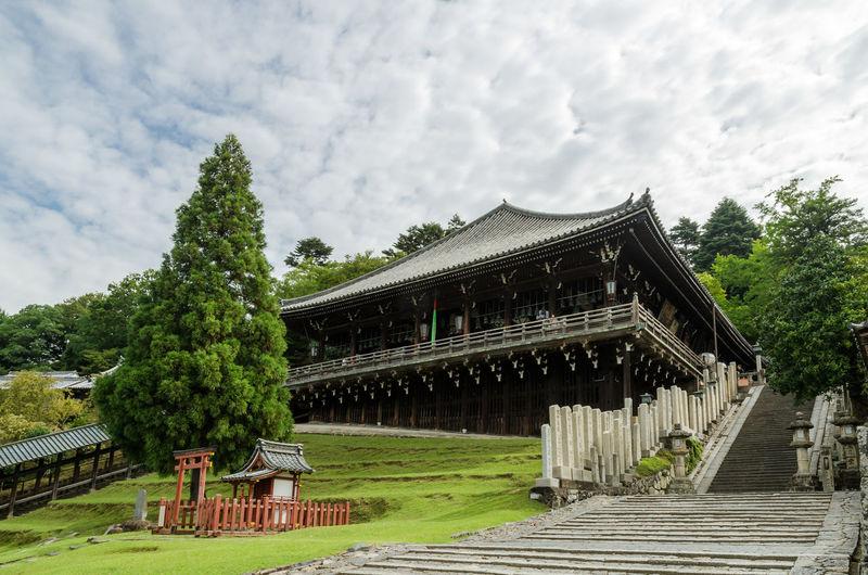 Architecture Nara Nara,Japan Temple Temple - Building Todaiji Todaijitemplenarakyotojapan 二月堂 奈良 奈良公園 東大寺 寺社仏閣 木造建築 国宝 世界遺産 風景 青空