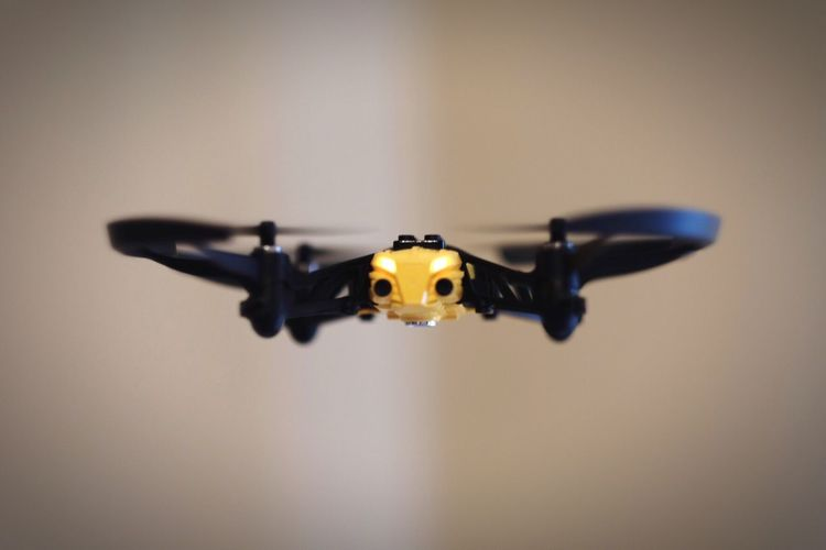 Close Up Of Drone
