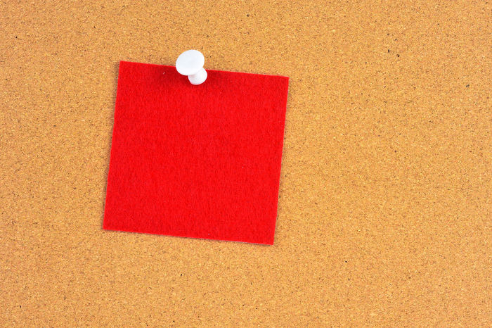 notice Office Work Close-up Day Important Indoors  No People Notice Noticeboard Office Paper Push Pins Red Reminder