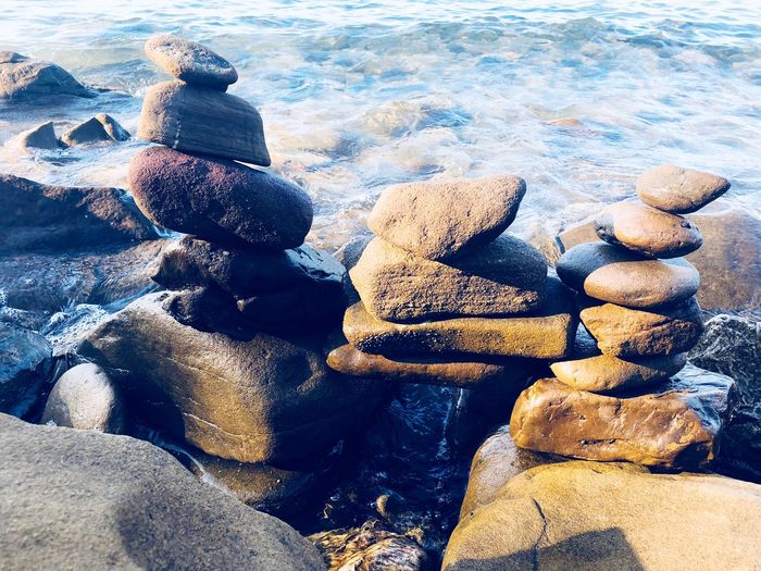 Stones totem