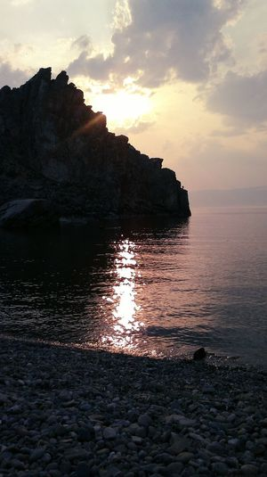 Lake Baikal Olkhon The Best Place Our Sunset Relaxing Nature Russian Siberia