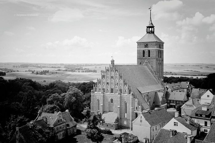 Reszel Kochamy.warmie Black&white Poland Church Monochrome Blackandwhite Architecture Architecture_bw Warmia