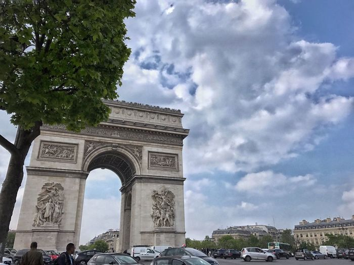 No effect 🚫 Sky Triumphal Arch Architecture Cloud - Sky Arch Monument History Built Structure City Outdoors Tree Travel Destinations Day No People Travel Filippofattorusofoto