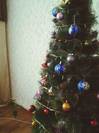 Елка Скоро новый год новыйгод ёлка новогодние украшения