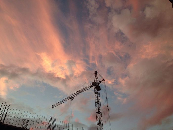 волшебство пятничного осеннего неба