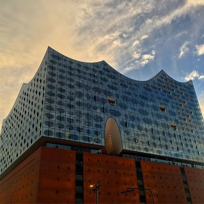 Hamburg Elbphilharmonie Architecture City No People Modern Sky Day Germany Explore Exploring Music Adapted To The City