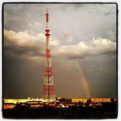 Красотища Астрахань небо астраханскоенебо радуга осень безфильтра YouAst Astrakhan прогулкапокрыше Vscocam Vscobest Rainbow Helloastrakhan My_astrakhan 30my
