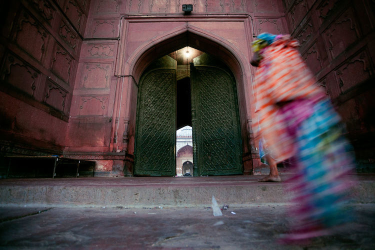 Architecture Delhi Doorway Entrance Famous Place Holy Place India JamaMasjid Masjid Mosque The Street Photographer - 2016 EyeEm Awards Tourism Tourist Attraction  Travel Travel Destinations Travel Photography People And Places My Year My View