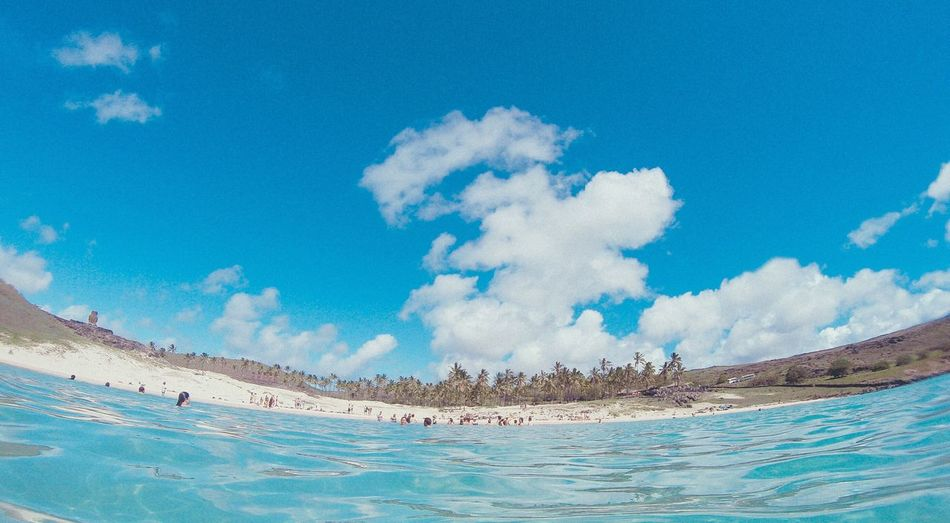 Easter Island, Beach Summer Chile , Anakena