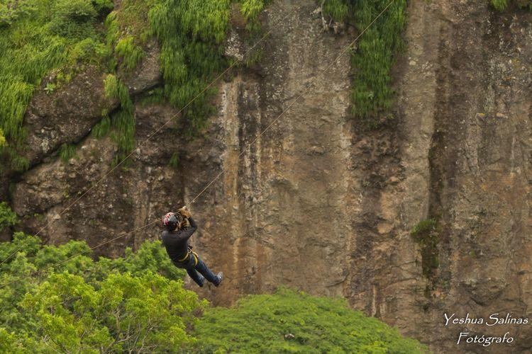 Adventure Rock Climbing Extreme Sports Rope RISK Canopy Puerta Del Diablo Panchimalco. ElSalvador  Elsalvadorimpresionante EyeEmNewHere