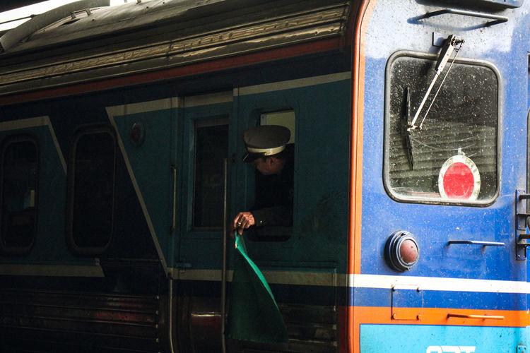Full length of train
