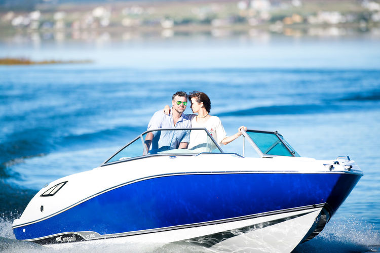 Two People Water Adult Togetherness Young Men Lifestyles Nature Outdoors Luxury Boat Lancha Love
