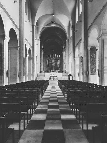 EyeEm Shadows Leica Lens EyeEm Gallery Black&white Black & White Church Church Architecture Churchflow Kirche EyeEm Best Shots - Black + White EyeEm Best Shots Germany Black And White Blackandwhite Blackandwhite Photography Black And White Collection  Church Flow House Of God Praying Prayers Chairs Lights And Shadows EyeEm Best Edits Eyem Gallery