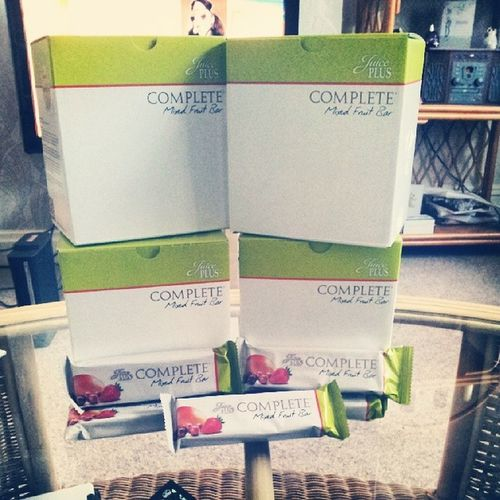 Look what just arrived! Juiceplus JPcomplete Fruitbars