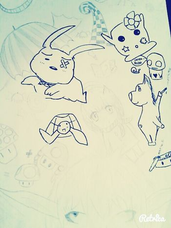 My favorite hobby Drawing Blackandwhite Funny Littleanimal Mangaart
